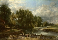 Stratford Mill painting reproduction, John Constable