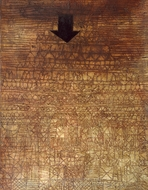 Stricken City painting reproduction, Paul Klee