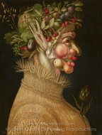 Summer painting reproduction, Giuseppe Arcimboldo