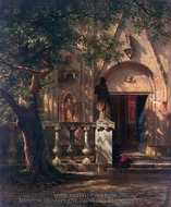 Sunlight and Shadow painting reproduction, Albert Bierstadt