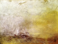 Sunrise with Sea Monsters painting reproduction, J.M.W. Turner
