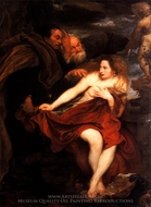 Susanna and the Elders painting reproduction, Sir Anthony Van Dyck