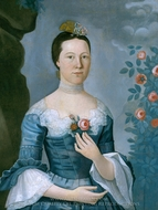 Susannah or Mary Bontecou painting reproduction, John Durand