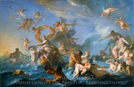 The Abduction of Europa painting reproduction, Noel-Nicolas Coypel