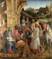 The Adoration of the Kings painting reproduction, Vincenzo Foppa