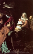 The Adoration of the Magi painting reproduction, Diego Vel�zquez