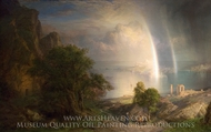 The Aegean Sea painting reproduction, Frederic Edwin Church