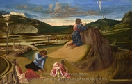 The Agony in the Garden painting reproduction, Giovanni Bellini