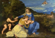 The Aldobrandini Madonna painting reproduction, Titian
