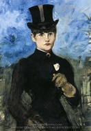 The Amazon (Horsewoman) painting reproduction, Edouard Manet