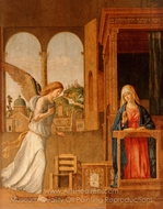 The Annunciation painting reproduction, Cima Da Conegliano