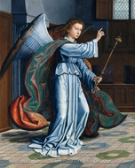 The Annunciation painting reproduction, Gerard David