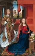 The Annunciation painting reproduction, Hans Memling