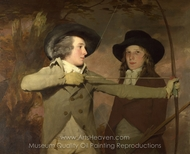The Archers painting reproduction, Sir Henry Raeburn
