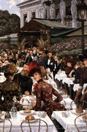 The Artist's Ladies painting reproduction, James Tissot