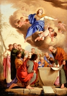 The Assumption painting reproduction, Laurent De La Hyre