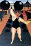 The Athlete painting reproduction, Camille Bombois