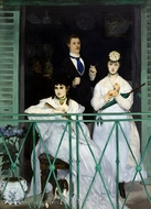 The Balcony painting reproduction, Edouard Manet
