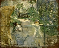 The Basket Chair painting reproduction, Berthe Morisot