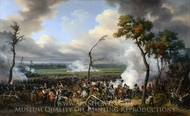 The Battle of Hanau painting reproduction, Horace Vernet