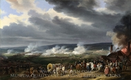 The Battle of Jemappes painting reproduction, Horace Vernet