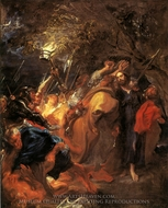 The Betrayal of Christ painting reproduction, Sir Anthony Van Dyck