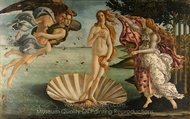 The Birth of Venus painting reproduction, Sandro Botticelli