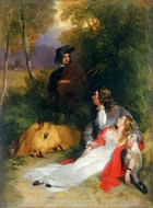 The Bride of Lammermoor painting reproduction, Sir Edwin Landseer