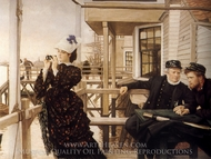 The Captain's Daughter painting reproduction, James Tissot