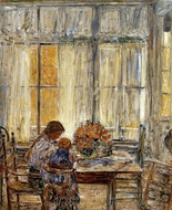 The Children painting reproduction, Childe Hassam