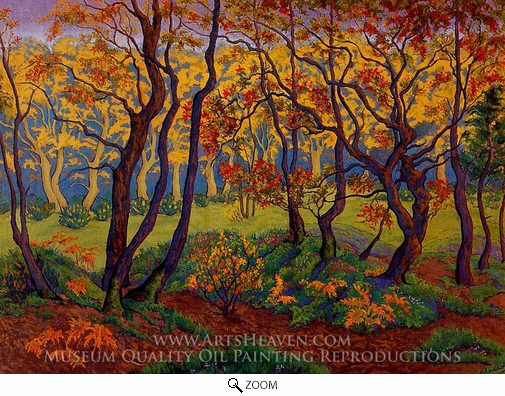 Paul Ranson, The Clearing (Edge of the Wood) oil painting reproduction