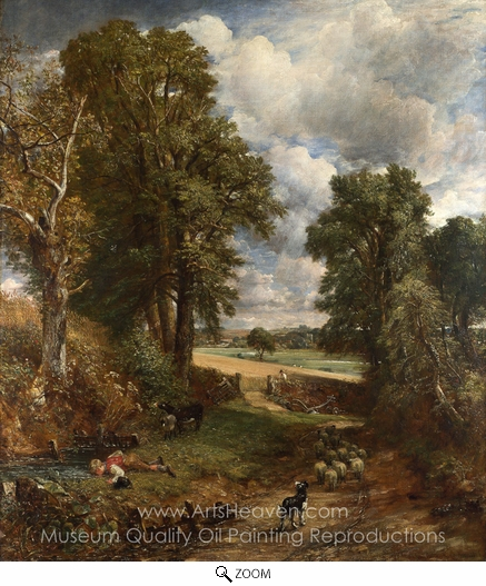 John Constable, The Cornfield oil painting reproduction