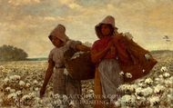 The Cotton Pickers painting reproduction, Winslow Homer