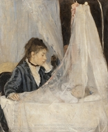 The Cradle painting reproduction, Berthe Morisot