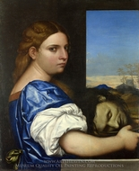 The Daughter of Herodias painting reproduction, Sebastiano Del Piombo