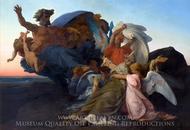 The Death of Moses painting reproduction, Alexandre Cabanel
