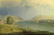 The Delaware Water Gap painting reproduction, George Inness