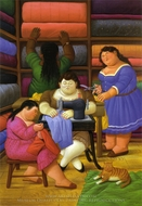 The Designers painting reproduction, Fernando Botero