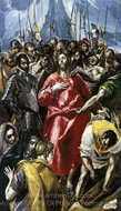 The Disrobing of Christ (El Espolio) painting reproduction, El Greco