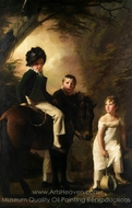 The Drummond Children painting reproduction, Sir Henry Raeburn