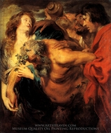 The Drunken Silenus painting reproduction, Sir Anthony Van Dyck