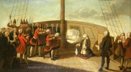The Execution of Admiral Byng, 14 March 1757 painting reproduction, Richard Wilson