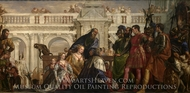 The Family of Darius Before Alexander painting reproduction, Paolo Veronese