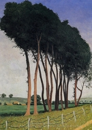 The Family of Trees painting reproduction, Felix Vallotton