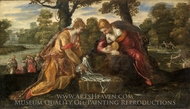 The Finding of Moses painting reproduction, Jacopo Tintoretto