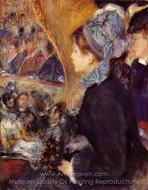 The First Outing painting reproduction, Pierre-Auguste Renoir