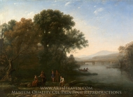 The Ford painting reproduction, Claude Lorraine