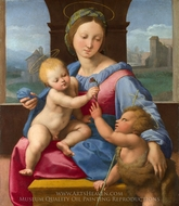 The Garvagh Madonna painting reproduction, Raphael Sanzio