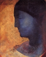 The Golden Cell painting reproduction, Odilon Redon