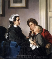 The Governess painting reproduction, Alexandre Cabanel